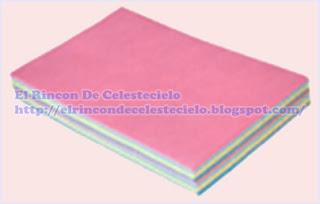 Papel manifold de colores