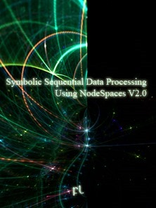 Symbolic Sequential Data Processing Using NodeSpaces Cover