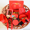 Our Color Red Learning Basket
