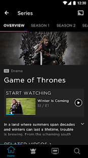 App HBO APK for Windows Phone