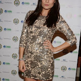OIC - ENTSIMAGES.COM - Layla Anna-Lee at the  Football fighting Ebola fundraising at Sarceys in London  12th April 2015 Photo Mobis Photos/OIC 0203 174 1069
