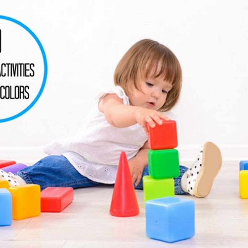 Teaching toddlers colors