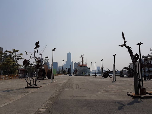 Steel Play exhibition at Pier-2 Art Center in Kaohsiung