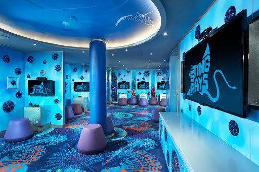 Your children will have lots to keep them entertained at Camp Ocean on Carnival Vista.