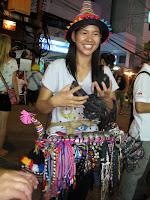 Friendly vendor on Khao San
