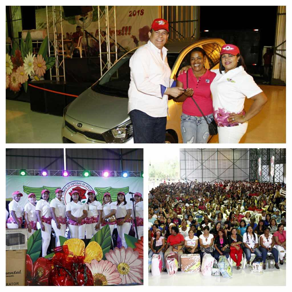 Comité de Esposas de Oficiales de la Fuerza Aérea de República Dominicana (CEOFARD) ofrece Gran Fiesta a las Madres en su día.