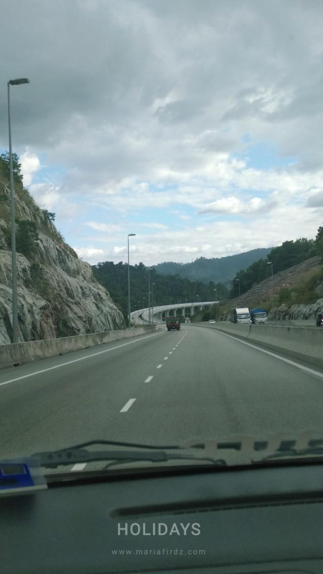 Pengalaman Melalui Highway Tertinggi di Malaysia