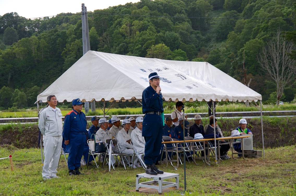 沼田警察署長・講評