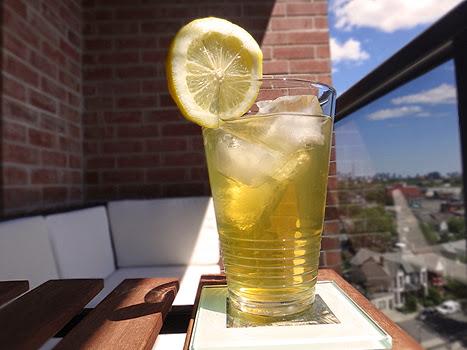 Lemon Lime Iced Green Tea