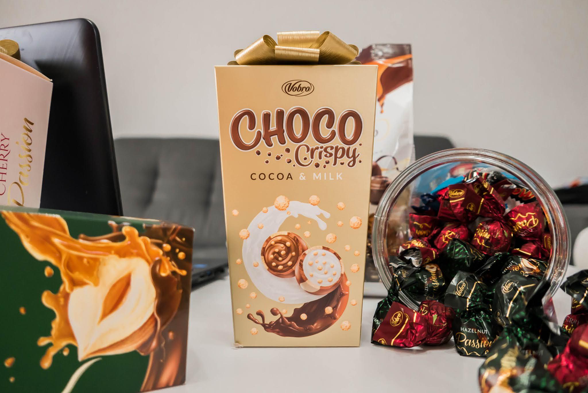 Vobro Choco Crispy Cocoa & Milk