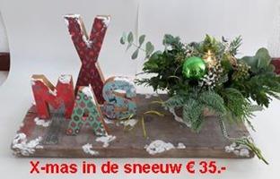 xmas in sneeuw prijs