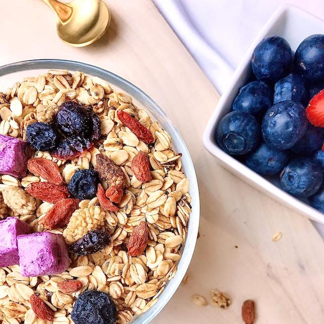 Yummy, healthy granolas