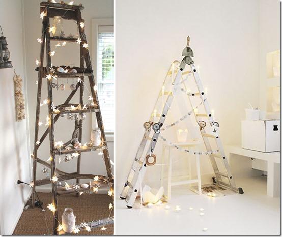 árboles-de-Navidad con-escaleras-de-madera (7)