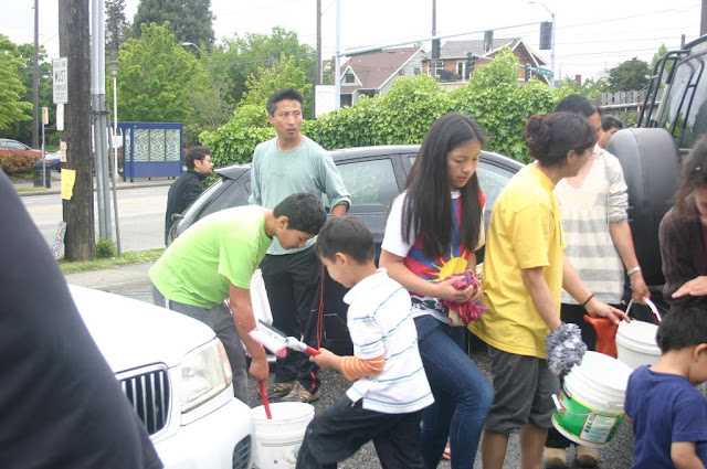 Tibetan Sunday School: Car Wash Fundraiser - IMG_4392.JPG