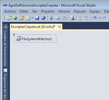 Desarrollar o implementar un servicio de Windows con Visual Basic .Net
