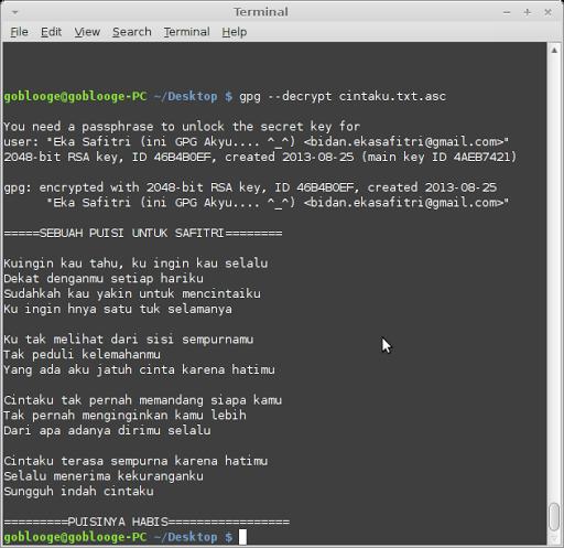 Hasil Dencrypt file