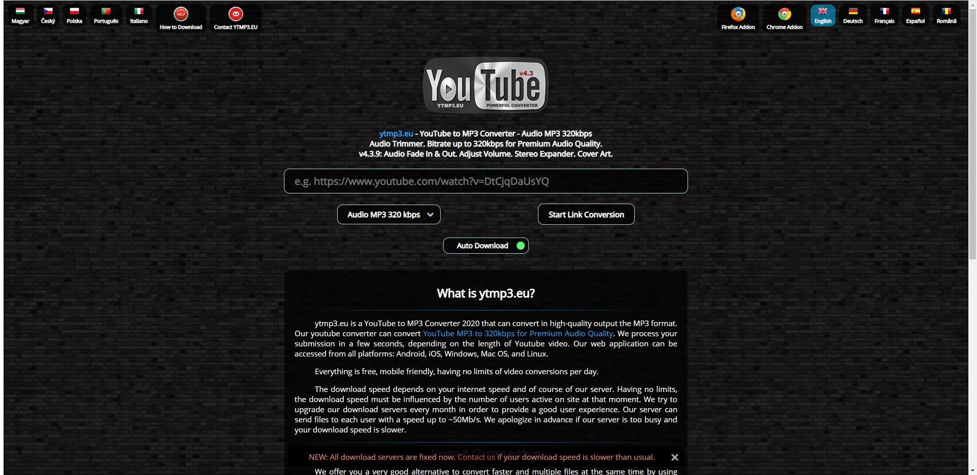 اقوي موقع للتحميل من اليوتيوب بصيغة mp3 بدون برامج 2021