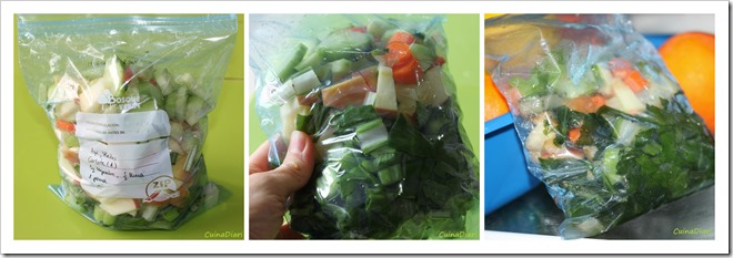7-Sucs verds cuinadiari-congelat bosses