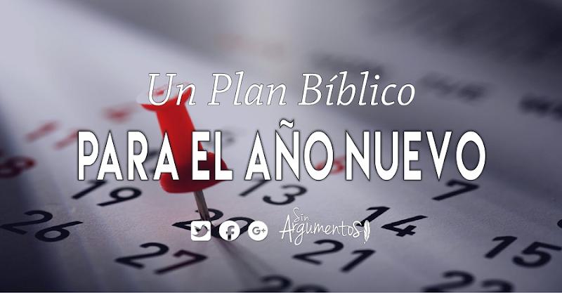 PLAN BÍBLICO AÑO NUEVO