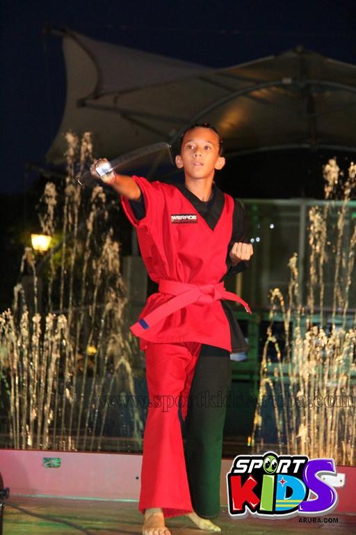 show di nos Reina Infantil di Aruba su carnaval Jaidyleen Tromp den Tang Soo Do - IMG_8753.JPG
