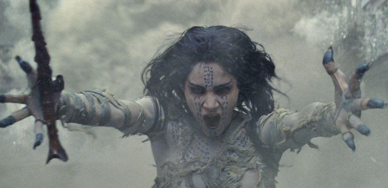 Sofia Boutella in THE MUMMY. (Photo courtesy of Universal Pictures).