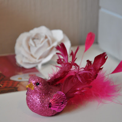 Pinke Zimmer Dekoration