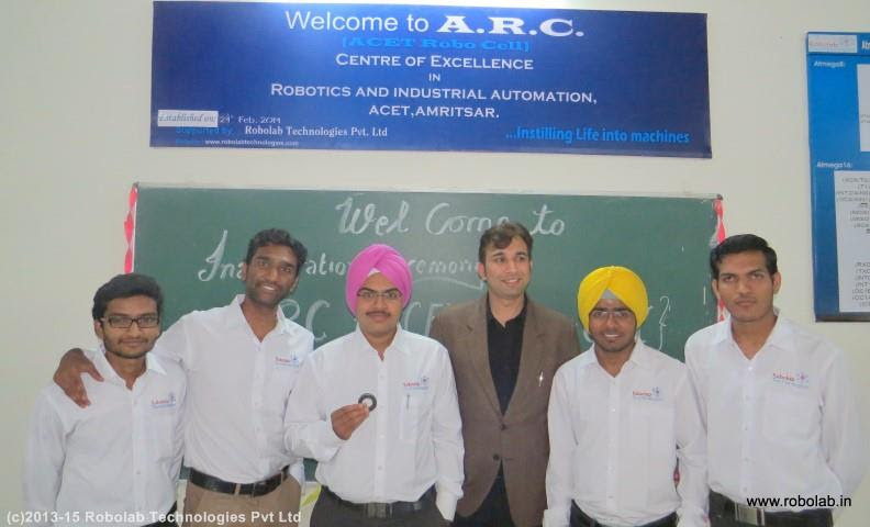 Amritsar College of Engineering and Technology, Amritsar Robolab (42).jpg