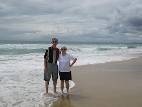Mom and dad on the Gold Coast