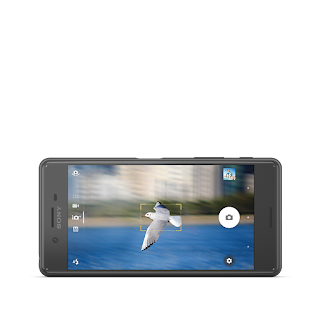 Xperia X Performance Black Front Horiz.png