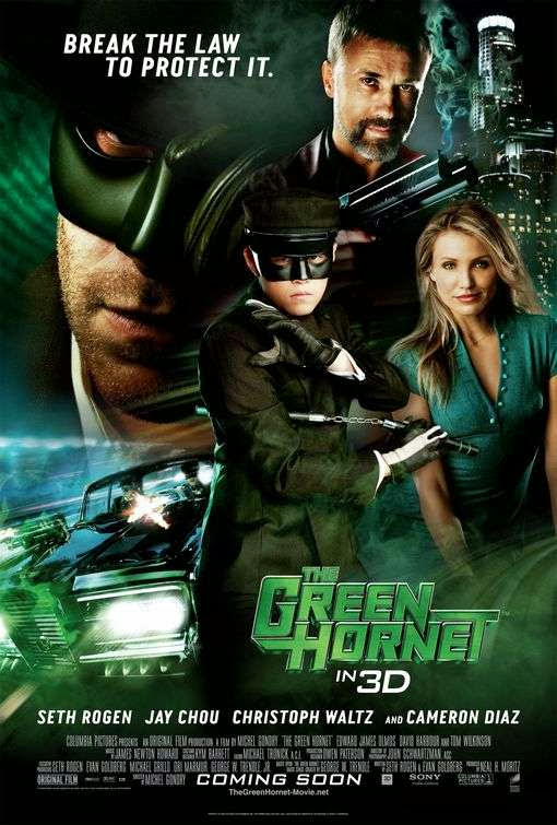 Poster Of The Green Hornet (2011) Full Movie Hindi Dubbed Free Download Watch Online At Alldownloads4u.Com