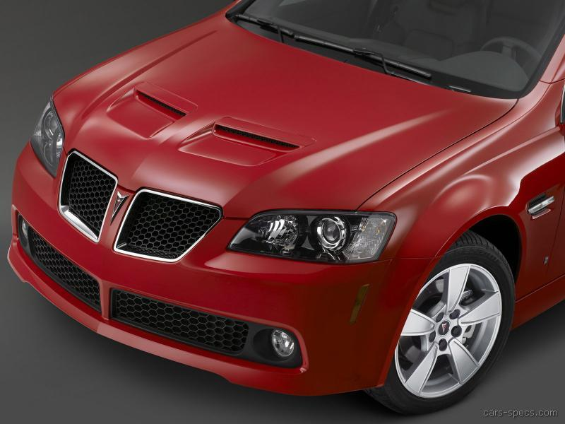 2008 Pontiac G8 Sedan Specifications Pictures Prices