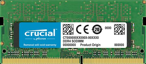 Bộ nhớ laptop DDR4 Crucial 8GB (2666)- CT8G4SFS8266