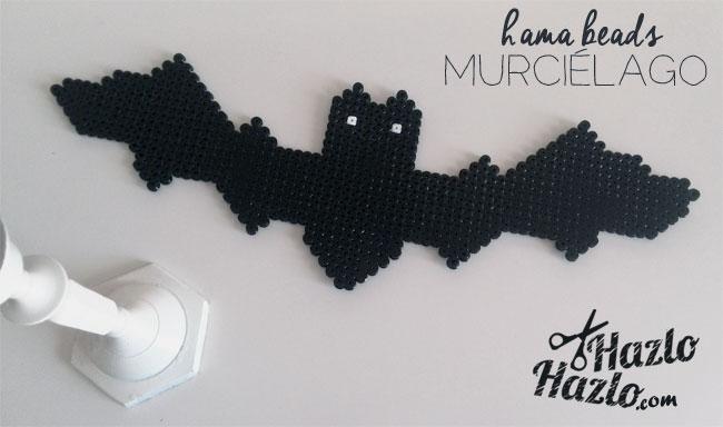 Murciélago Hama Beads