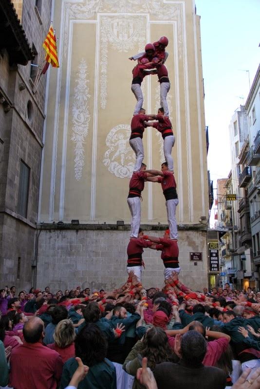 19è Aniversari Castellers de Lleida. Paeria . 5-04-14 - IMG_9464.JPG