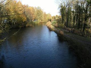 DSCF2652 Basingstoke Canal from Blacksmith's Bridge