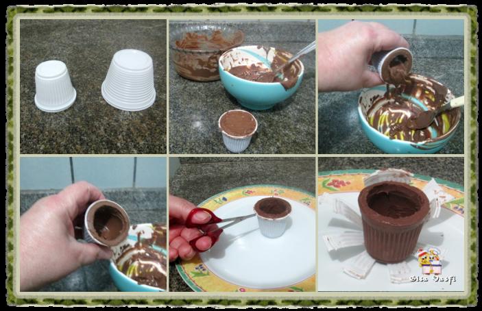 Casquinha e copinho de chocolate 7