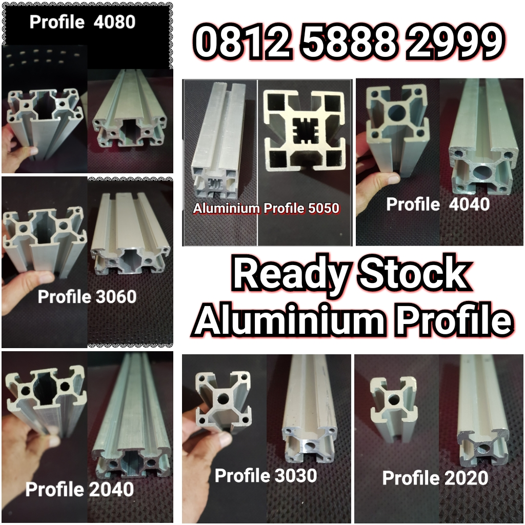 aksesoris aluminium,aluminium profile,motor induction