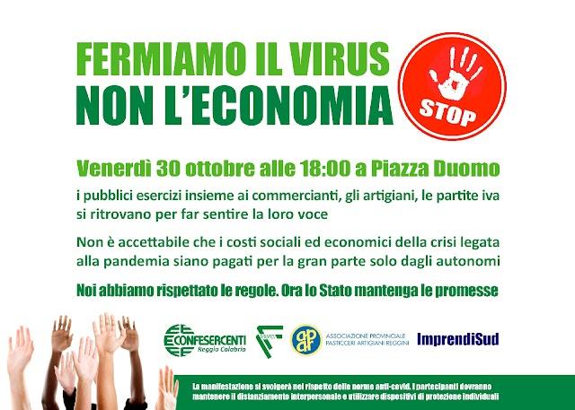 FERMIAMO IL VIRUS, NON L'ECONOMIA!