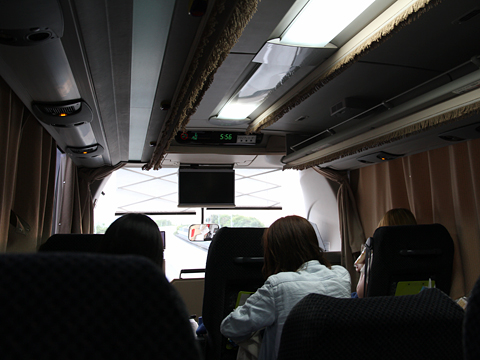 西日本鉄道「博多・フジヤマ Express」 4852 まもなく静岡インター