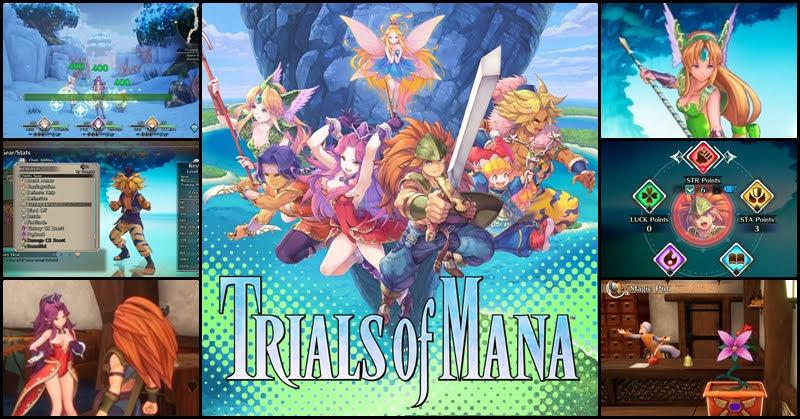 Seiken Densetsu 3 Trials of Mana ตำนานคืนชีพกับ สิ่งที่เปลี่ยนแปลง