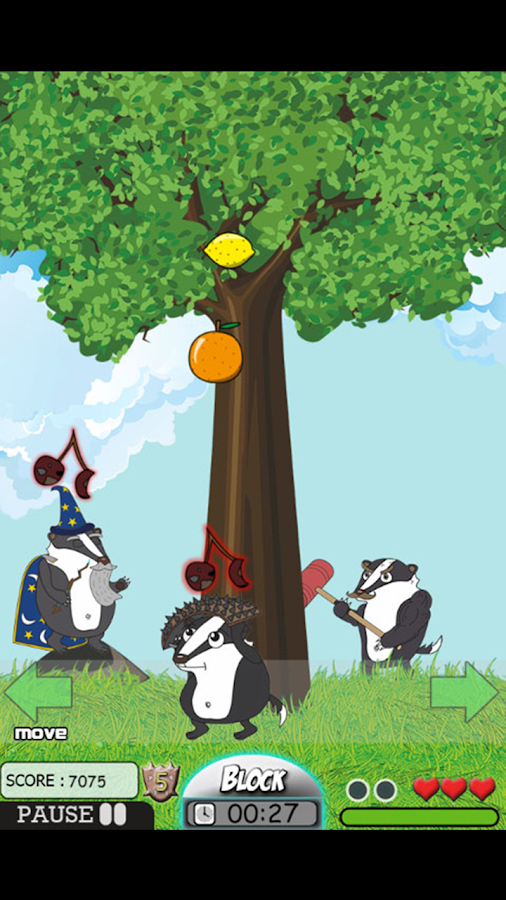 Badger Rush- screenshot