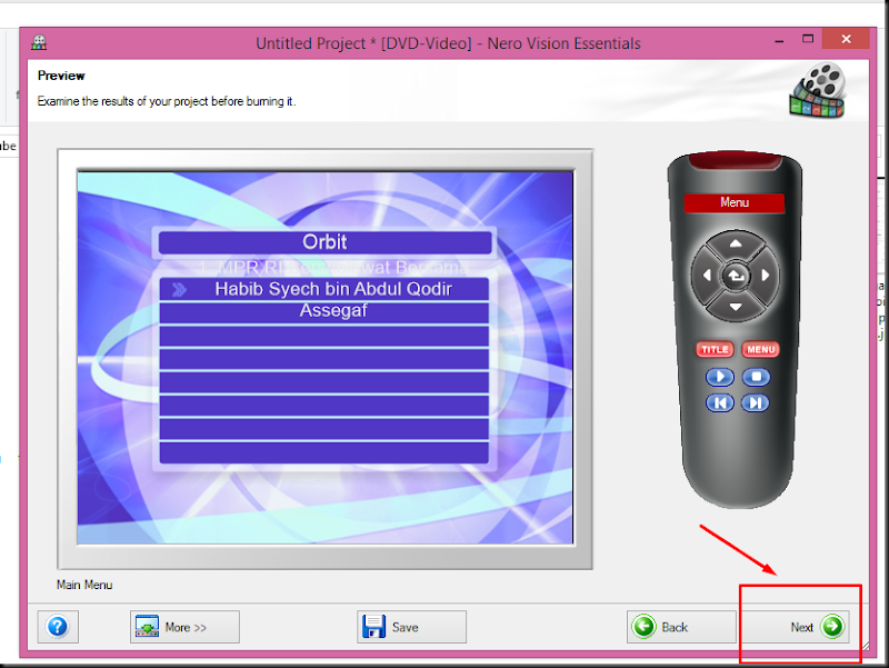 cara memburning kaset dvd ke dvd player