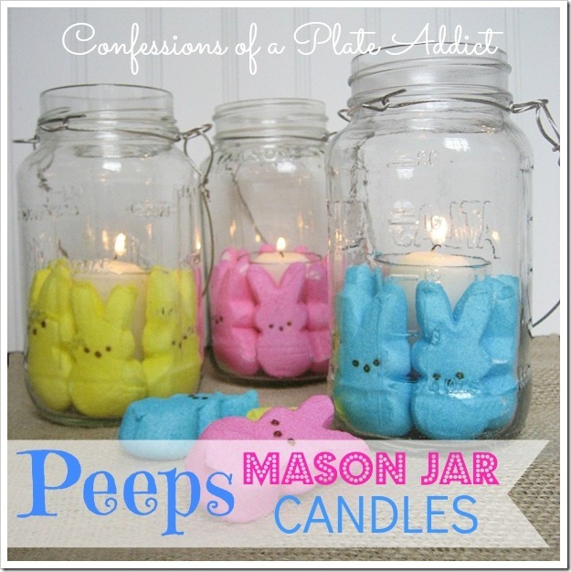 CONFESSIONS OF A PLATE ADDICT Peeps Mason Jar Candles4_thumb[3]