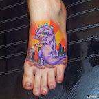 bad foot - tattoos for men