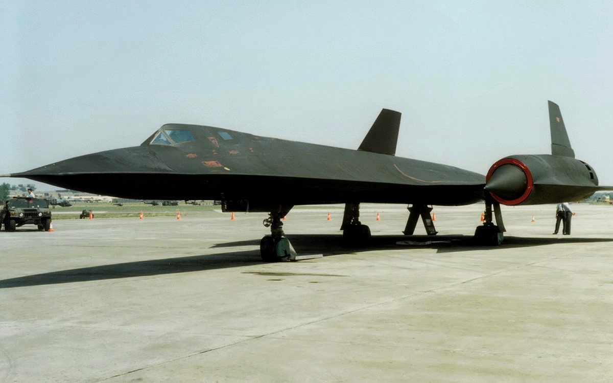 SR-71 Blackbird Jet Fighter Wallpaper 4