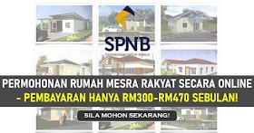 Permohonan Rumah Mesra Rakyat 2021 Secara Online -Hanya RM300-RM470 Sebulan!