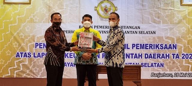 Predikat WTP, Kado Jelang Hari Jadi ke-71 Kotabaru