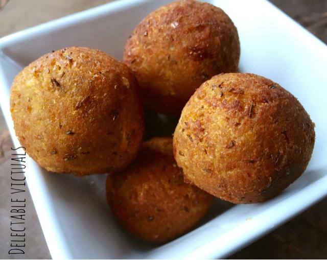 Steamed Lentil Balls with Parsnip, Rutabaga, Turnip