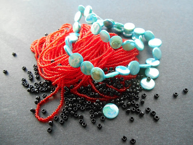 Fire Urchin Bead Color Idea