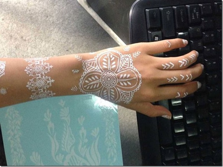 beautiful henna mehandi design